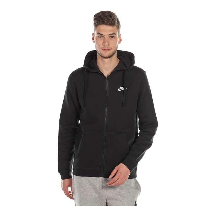 Bluza Nike M NSW Hoodie FZ FLC Club (804389 010)
