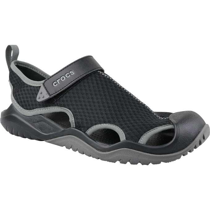 Crocs M Swiftwater Mesh Deck Sandal 205289 001