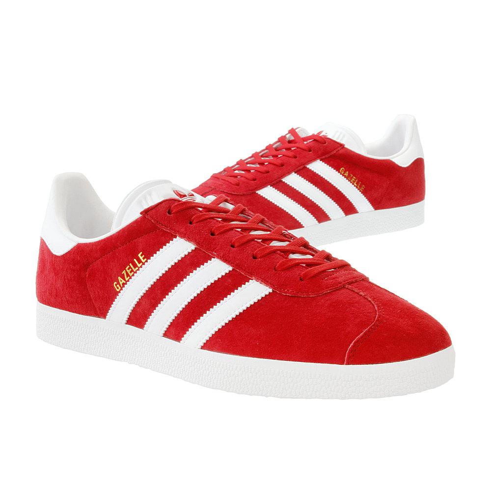 adidas gazelle damskie czerwone