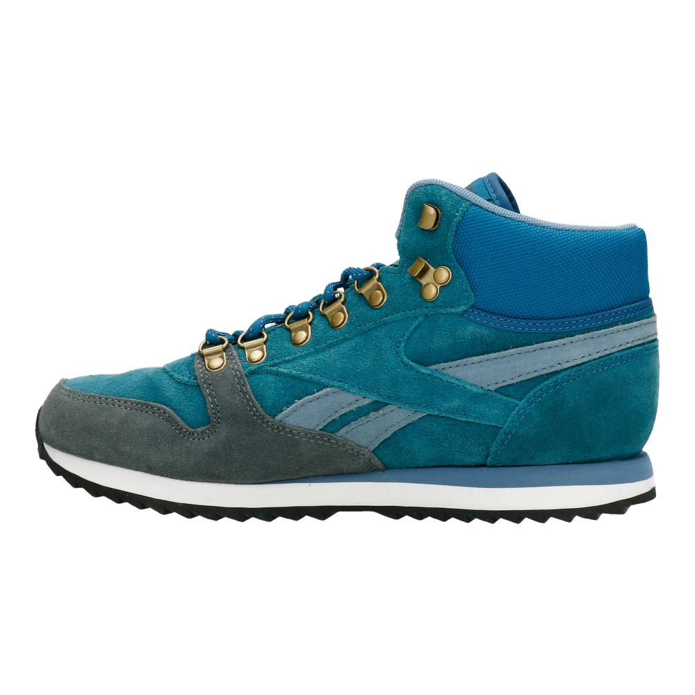 buty reebok classic leather mid ww blue. u2039 u203a
