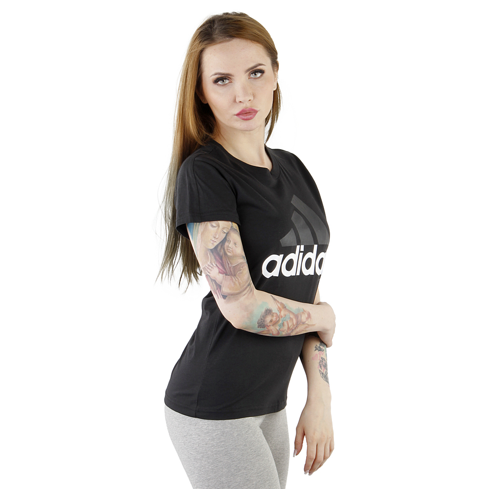 Koszulka adidas Essentials Linear Slim Tee Women