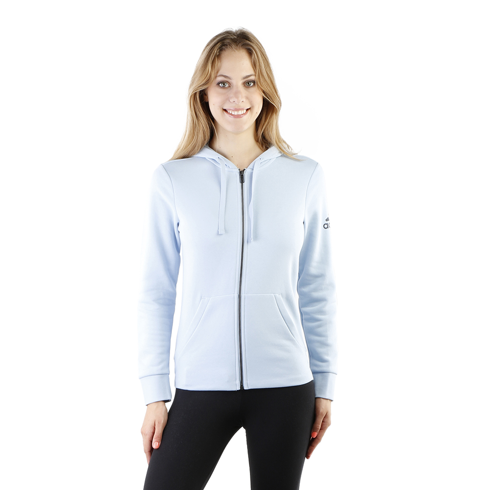 Adidas Essentials Solid Full Zip Hoodie W