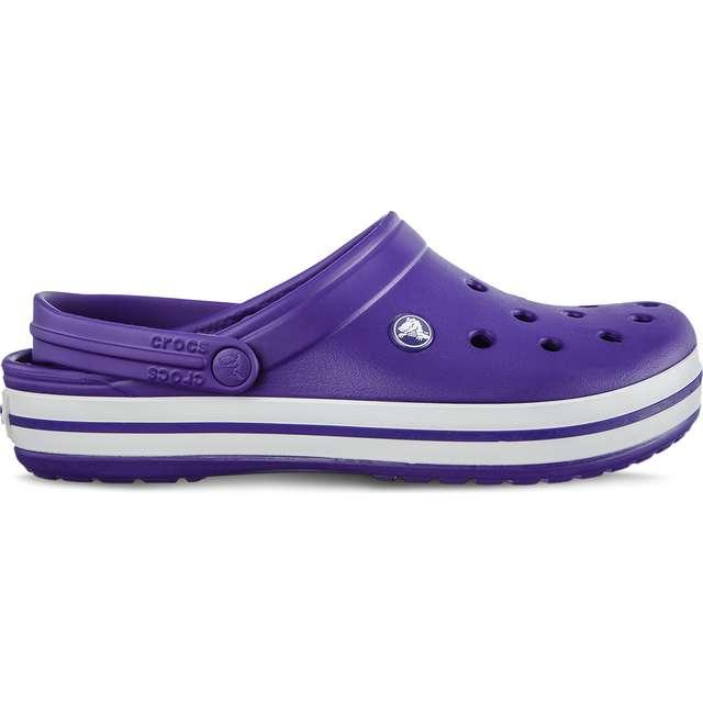 Nowe Produkty kody promocyjne najtańszy Klapki Crocs Crocband Ultraviolet White